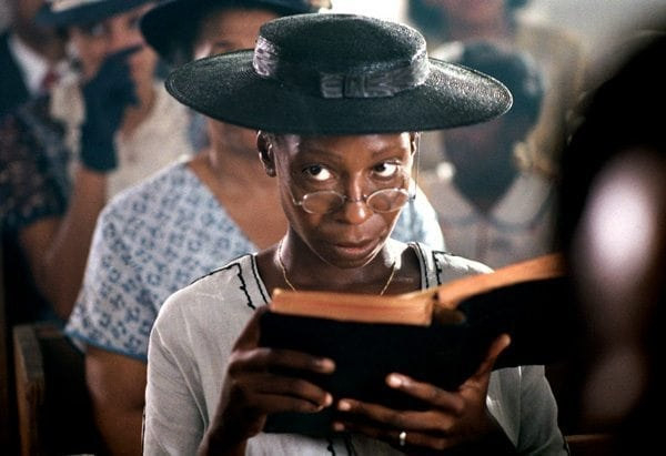 Boycotting The Oscars: photo of Whoopi Goldberg in THE COLOR PURPLE.