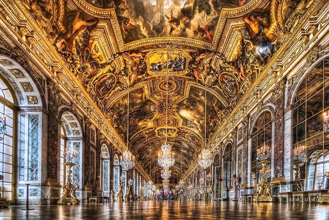 Childhood Damage: the Hall of Mirrors in the Palace of Versailles.