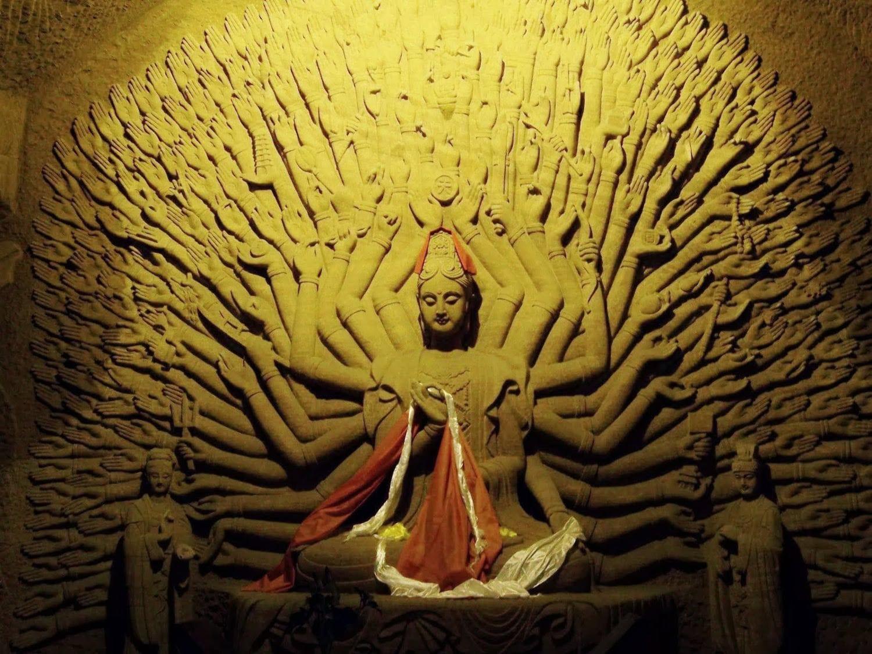 Bodhisattva wall China 1500