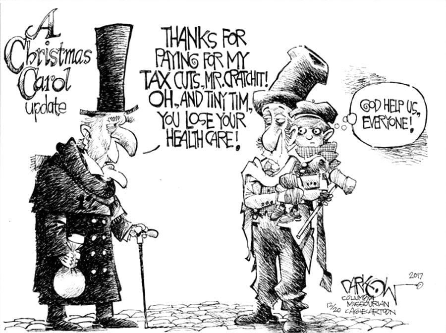 Elite: Cartoon by John Darkow of TheColumbia Daily Tribune.