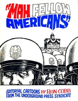 Cover of Ron Cobb's book MAH FELLOW AMERICANS.