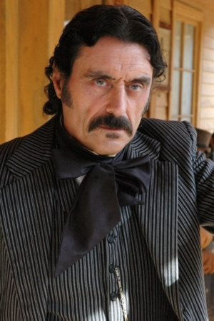 Pernicious: photo of Ian McShane as Al Swearengen in Deadwood.