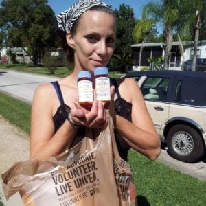 Consequentialism: Photo of Charlene Dill with her heart medications.