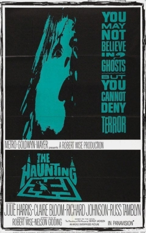 Cloverfield: Poster for the original 1963 movie THE HAUNTING.