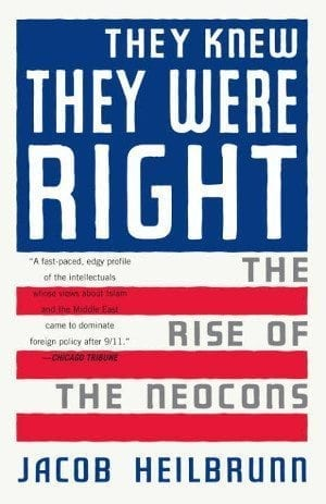 Antifa-sters: cover of Jacob Heilbrunn's book THEY KNEW THEY WERE RIGHT.