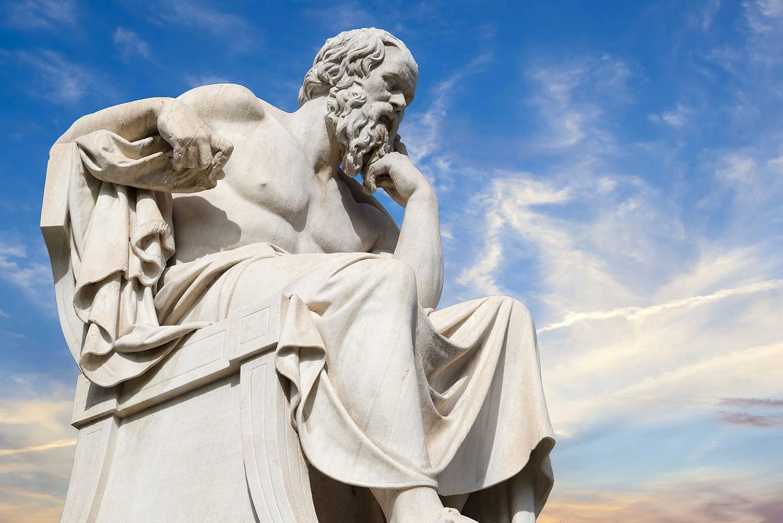 Socrates statue 1500