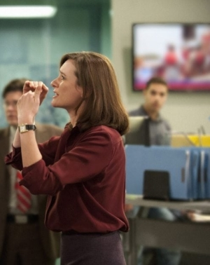 Fellow Americans: photo of Emily Mortimer from THE NEWSROOM.