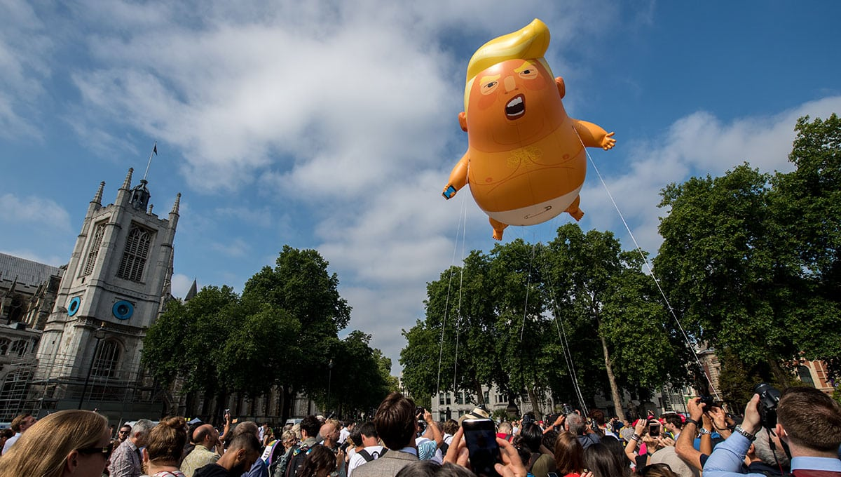 Trump BabyBlimp 1000