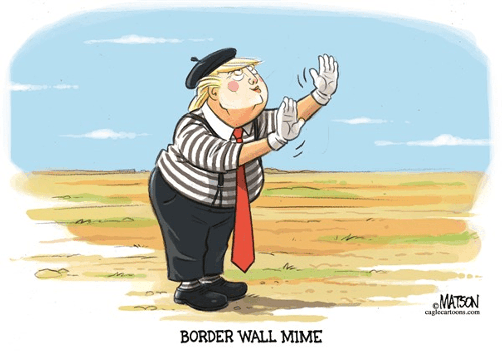 Trump MimeTrump cartoon Matson 900