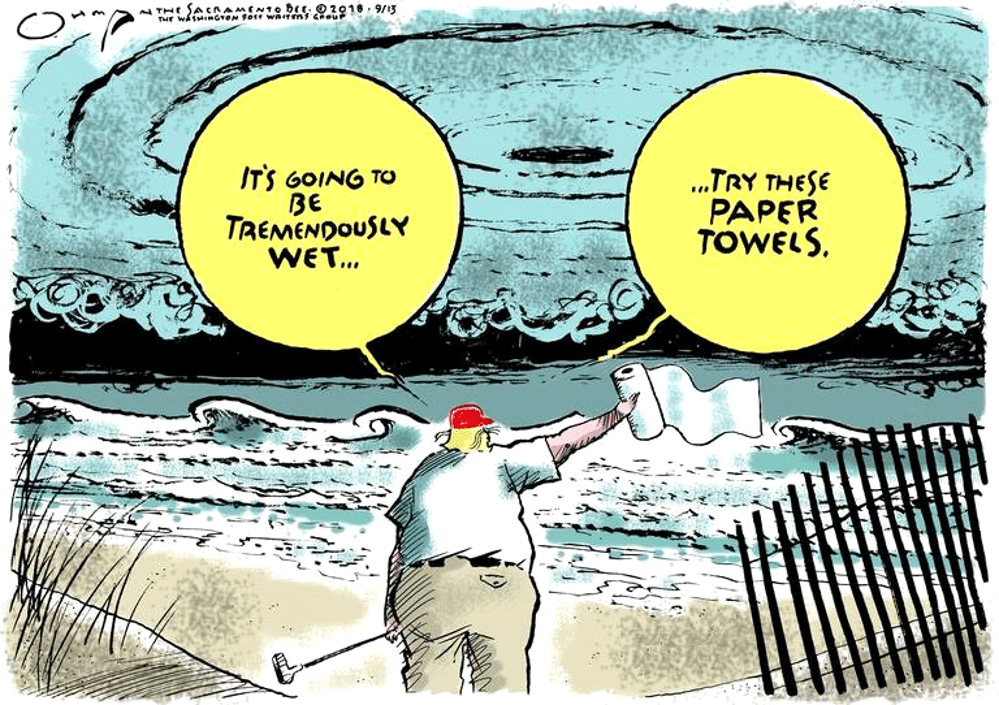 Trump cartoon TremendouslyWet Ohman 1000