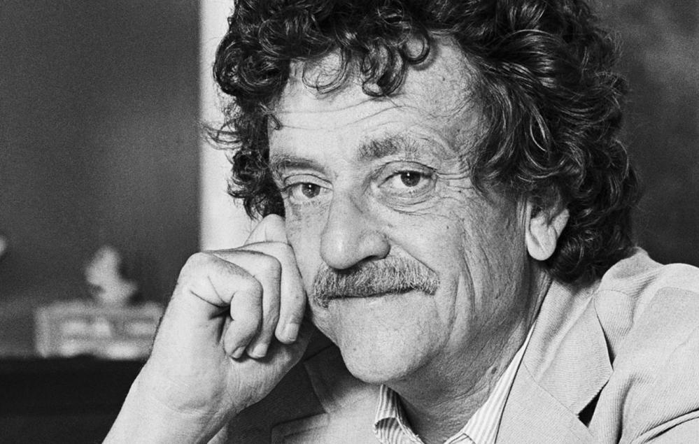 Humanism: photo of Kurt Vonnegut, recipient of the 1992 Humanist of the Year Award.