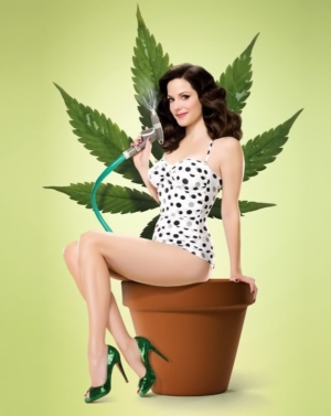 Pernicious: photo of Mary Louise-Parker as Nancy Botwin in Weeds.