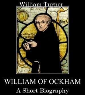 Nemu: front cover of William Turner's book WILLIAM OF OCKHAM – A SHORT BIOGRAPHY.