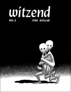 Very Strange Comic Strip: front cover for WITZEND #3 in 1967.